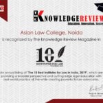 The 10 Best Law Institutes in India, 2019 by The Knowledge Review
