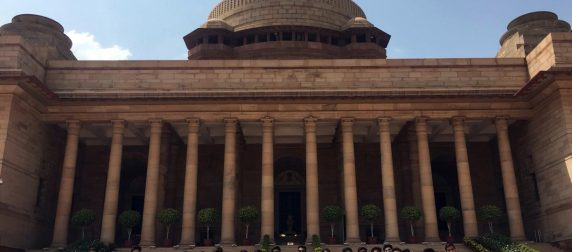 Asian Law College's Memorable Trip to the Rashtrapati Bhavan