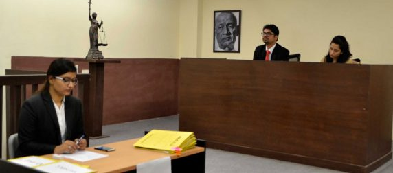 Asian Law College Intra Moot Court Competition 2018 (Final Round)