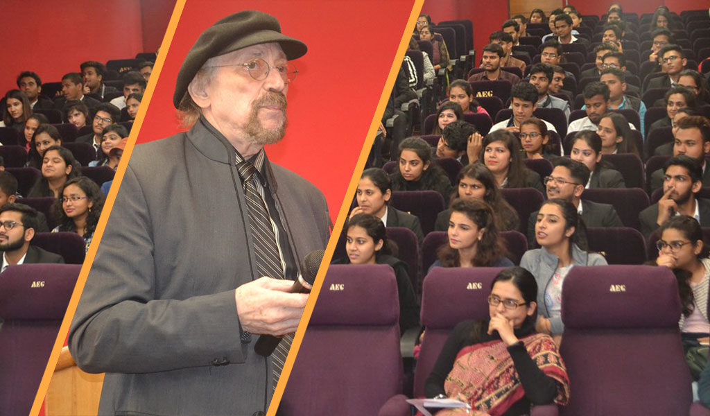 Asian Law College hosts internationally acclaimed media personality, Prof Karl Bardosh for a rewarding workshop
