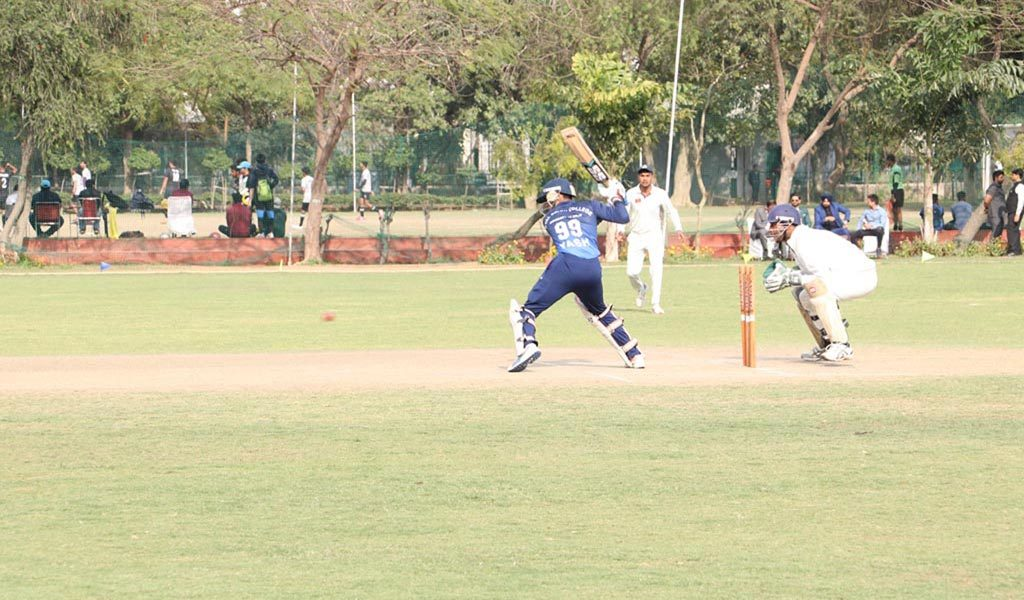 Ball for AEG ALC Annual Inter-College Sports Festival, ATHLEEMA set rolling on Cricket field!