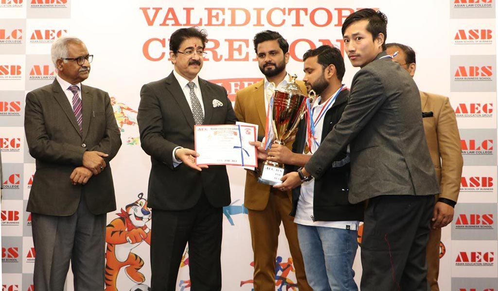Standard of badminton tournament at AEG ALC annual inter-college sports festival, ATHLEEMA 2019 was extraordinary