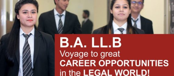 B.A. LL.B: Voyage to great career opportunities in the legal world!