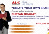 Create Your Own Brand – A Power Packed Session by Chetan Bhagat