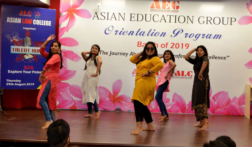 Asian Law College TALENT HUNT for the BALLB & LLB 2019 Batch