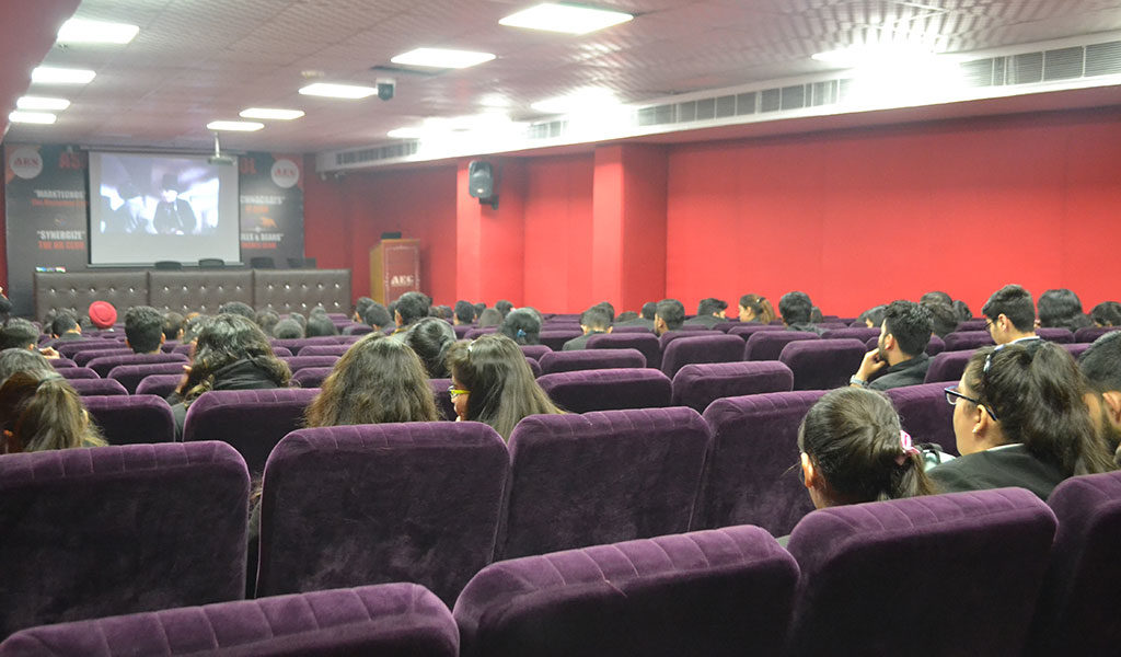 ALC BA LLB  Movie Screening Activity on 9th January 2020