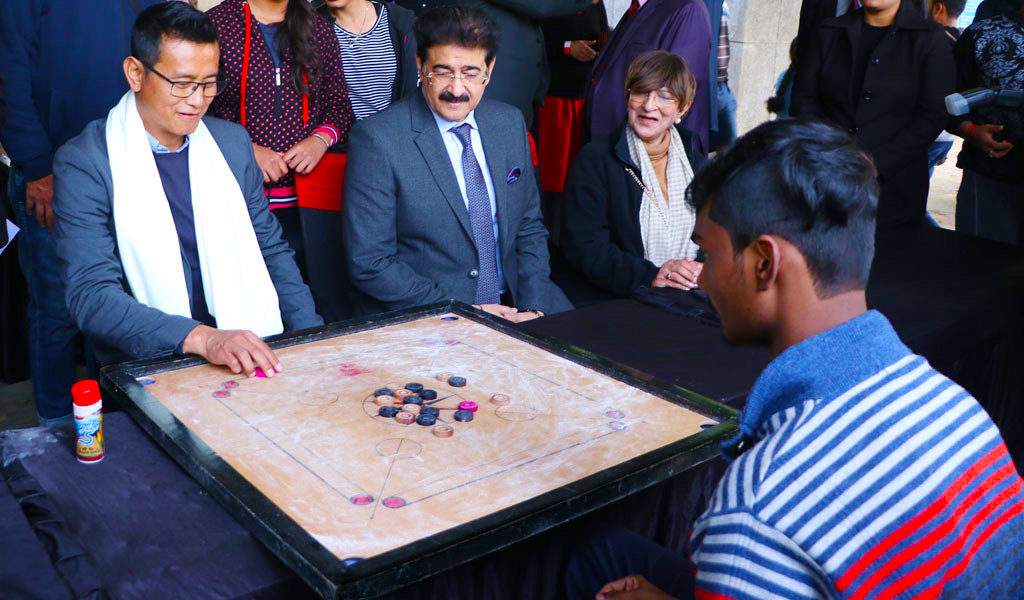 AEG ATHLEEMA 2020 Season 8-Carrom Competition