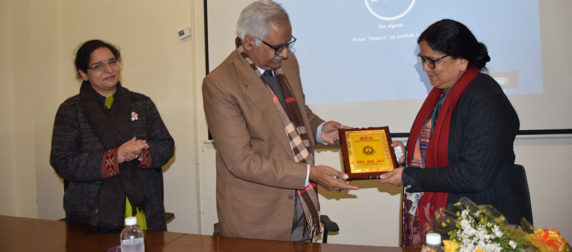 Asian LAw College- Prof. (Dr) Sanghamitra Sheel Acharya guest Lecture