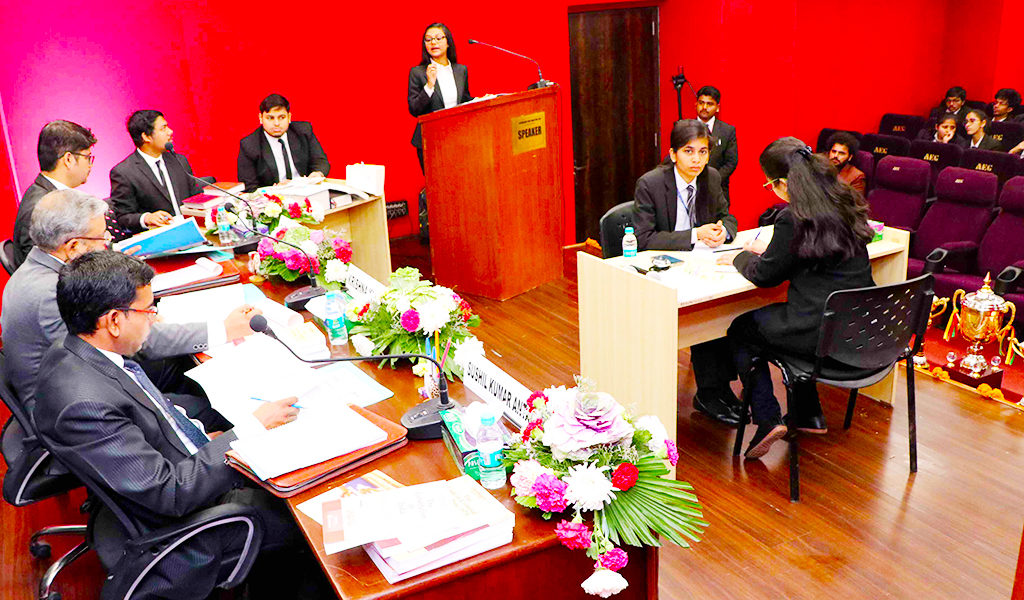 ALC National Moot Court Competition 2020 –  Mooting