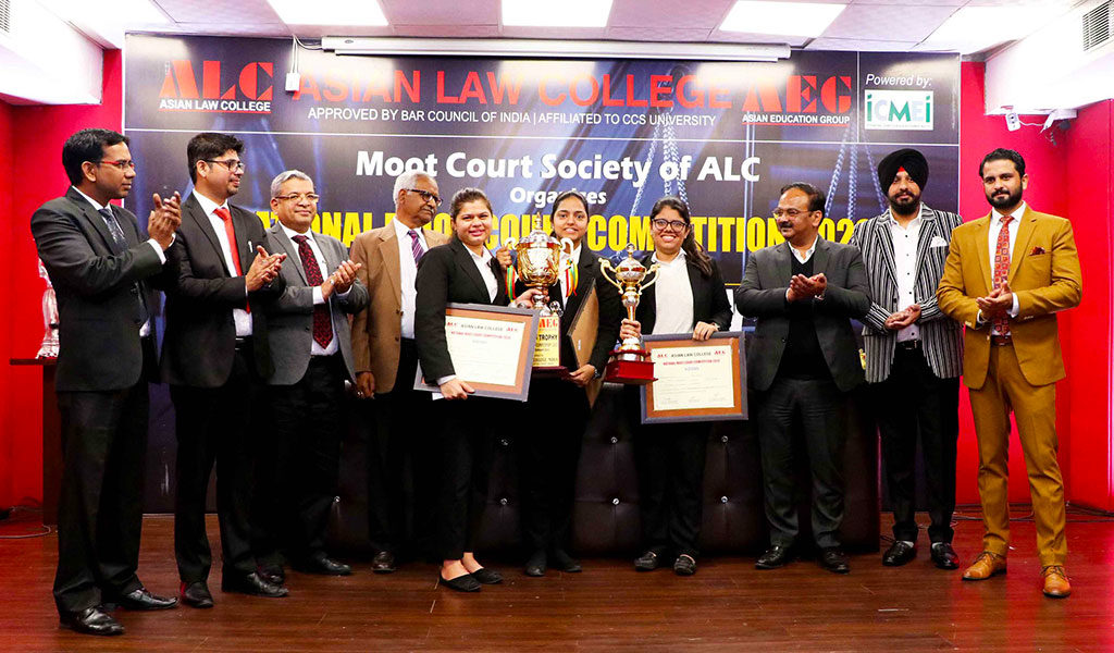 ALC National Moot Court Competition 2020 –  Valedictory Ceremony