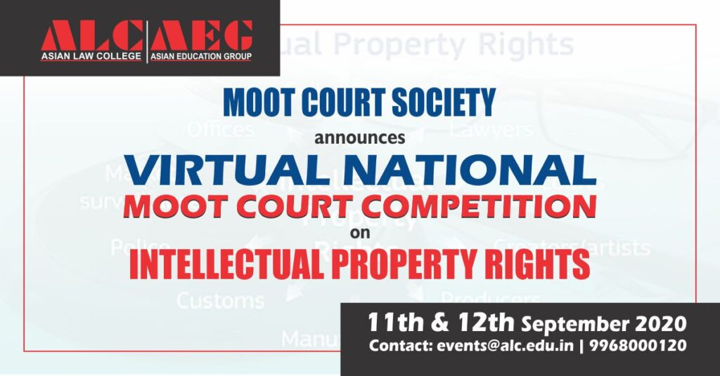 National Moot Court Competition on Intellectual Property Rights Rresult