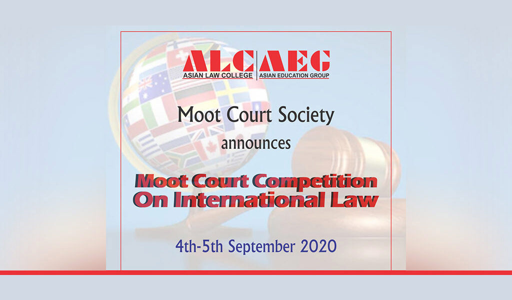Virtual Moot Court Competition on International Law  Result