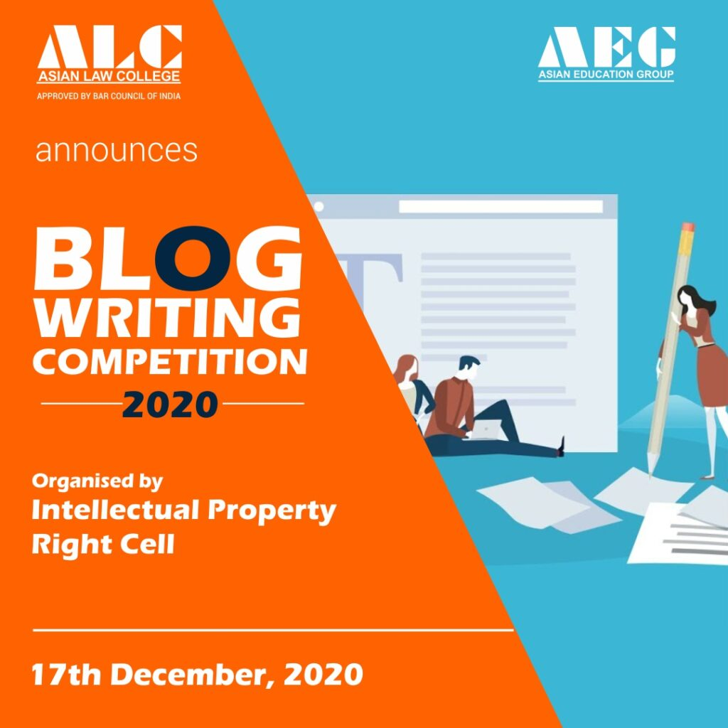 Blog Writing Competition Result